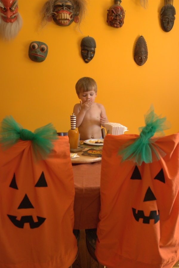 liam and the pumpkins